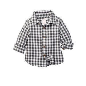 Joe Fresh baby boy flannel shirt